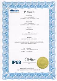 IP测试证书